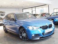 USED 2018 18 BMW 3 SERIES 3.0 335D XDRIVE M SPORT 4d AUTO 309 BHP M PERFROMANCE STYLING+SAT NAV