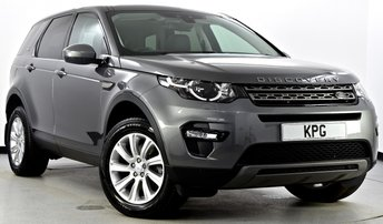 2016 LAND ROVER DISCOVERY SPORT 2.0 TD4 SE Tech 4X4 (s/s) 5dr £24995.00