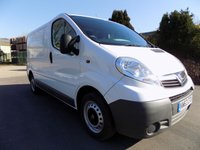 USED 2014 63 VAUXHALL VIVARO 2.0 2700 CDTI 1d 89 BHP ***Nationwide Delivery Available***
