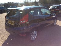 USED 2009 59 FORD FIESTA 1.2 ZETEC 3d 81 BHP NEW MOT, JUST BEEN SERVICED, ALLOYS, AIR CONDITIONING, AUX CONNECTION, SPARE KEY