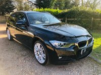 USED 2015 64 BMW 3 SERIES 2.0 320D XDRIVE M SPORT TOURING 5d AUTO 181 BHP F/BMW/S/H, Over £5,k extras