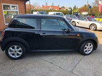 USED 2009 59 MINI HATCH ONE 1.4 ONE 3d 94 BHP LOW RATE FINANCE AVAILABLE!