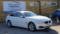 2016 BMW 4 SERIES 2.0 420D XDRIVE SE GRAN COUPE 4d AUTO 188 BHP £14984.00
