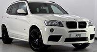 "USED 2012 62 BMW X3 2.0 20d M Sport xDrive 5dr £4k Extra's, Media Pk, 19""s"