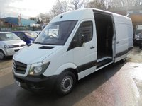 2017 MERCEDES-BENZ SPRINTER 314 CDI ( EURO 6 ) LONG WHEEL BASE  BIG BRAKE HORSE  140 BHP  SIX SPEED CRUISE CONTROL  2017 YEAR REMAIN MERCEDES WARRANTY  47,000 MILES ONLY  AS NEW CONDITION £15995.00
