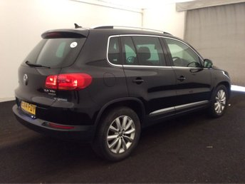 2014 VOLKSWAGEN TIGUAN 2.0 MATCH TDI BLUEMOTION TECHNOLOGY 5d 139 BHP £12490.00