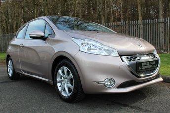 2012 PEUGEOT 208 1.4 ACTIVE E-HDI 3d AUTO 68 BHP £5000.00
