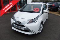 USED 2016 16 TOYOTA AYGO 1.0 VVT-I X-PURE 5d 69 BHP ****12 months warranty****