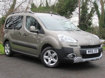 2015 PEUGEOT PARTNER 1.6 HDI TEPEE OUTDOOR 5d  £7628.00
