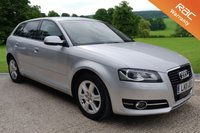 USED 2011 11 AUDI A3 1.4i SPORT SE, AUTO, LEATHER, SAT NAV, HEATED SEATS