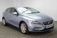 USED 2016 16 VOLVO V40 2.0 D4 INSCRIPTION 5DR 188 BHP FULL SERVICE HISTORY FULL SERVICE HISTORY + FREE 12 MONTHS ROAD TAX + HEATED LEATHER SEATS + SATELLITE NAVIGATION + PARKING SENSOR + BLUETOOTH + CRUISE CONTROL + CLIMATE CONTROL + DAB RADIO + MULTI FUNCTION WHEEL + ELECTRIC WINDOWS + ELECTRIC MIRRORS + 17 INCH ALLOY WHEELS