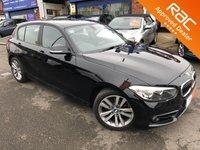 2015 BMW 1 SERIES 1.5 118I SPORT 5d AUTO 134 BHP £14495.00