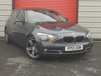 2013 BMW 1 SERIES 2.0 118D SPORT 5d 141 BHP £8995.00