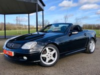2002 MERCEDES-BENZ SLK SLK320 V6 AUTO 218 BHP 2DR CONVERTIBLE £2449.00