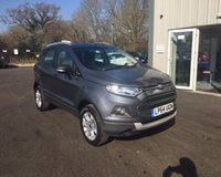 USED 2015 64 FORD ECOSPORT 1.0 TITANIUM ECOBOOST 125 BHP THIS VEHICLE IS AT SITE 2 - TO VIEW CALL US ON 01903 323333