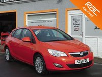 USED 2011 61 VAUXHALL ASTRA 1.4 EXCITE 5d 98 BHP Cruise Control, Parking Sensors, Bluetooth Voice Function
