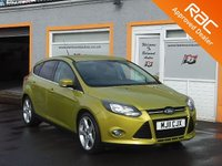 USED 2011 11 FORD FOCUS 1.6 TITANIUM 5d 124 BHP Heated Front Screen, Bletooth Technology, Climate Control