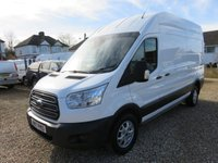 2017 FORD TRANSIT 2.0 350 L3 H3 TREND 170 BHP 1 OWNER AIR CON SERVICE HISTORY ALLOY WHEELS £16850.00