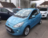 USED 2011 60 FORD KA 1.2 ZETEC THIS VEHICLE IS AT SITE 1 - TO VIEW CALL US ON 01903 892224