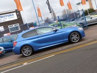 "USED 2014 14 BMW 1 SERIES 3.0 M135I 3d FULL LEATHER ~ FULL BMW HISTORY ~ DAB ~ CLIMATE CONTROL ~ 18"" FERRIC GREY ALLOYS"