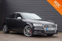USED 2017 66 AUDI A3 2.0 S3 SPORTBACK QUATTRO 5d AUTO 306 BHP £0 DEPOSIT BUY NOW PAY LATER - FULL AUDI S/H - NAVIGATION