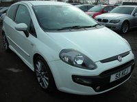 USED 2010 FIAT PUNTO EVO 1.6 MULTIJET SPORTING 3d 120 BHP FSH - Cheap tax - Bargain diesel