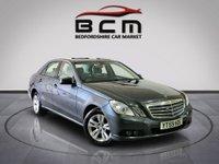 2009 MERCEDES-BENZ E CLASS 2.1 E220 CDI BLUEEFFICIENCY SE 4d AUTO 170 BHP £5985.00