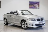 2011 BMW 1 SERIES 2.0 118D SE 2d 143 BHP 1 SERIES CONVERTIBLE £7991.00