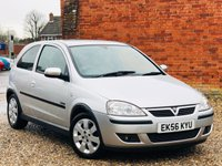 USED 2006 56 VAUXHALL CORSA 1.2 SXI PLUS 16V TWINPORT 3d 80 BHP