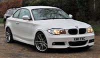 2011 BMW 1 SERIES 2.0 123D M SPORT 2d 202 BHP