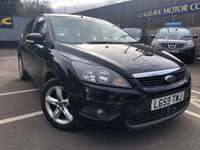 USED 2009 59 FORD FOCUS 1.6 ZETEC 5d 100 BHP LONG MOT