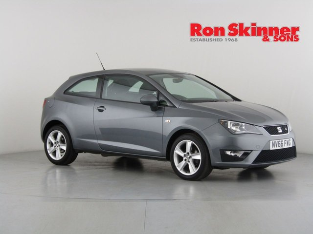 View our 2017 66 SEAT IBIZA 1.2 TSI FR TECHNOLOGY 3d 89 BHP