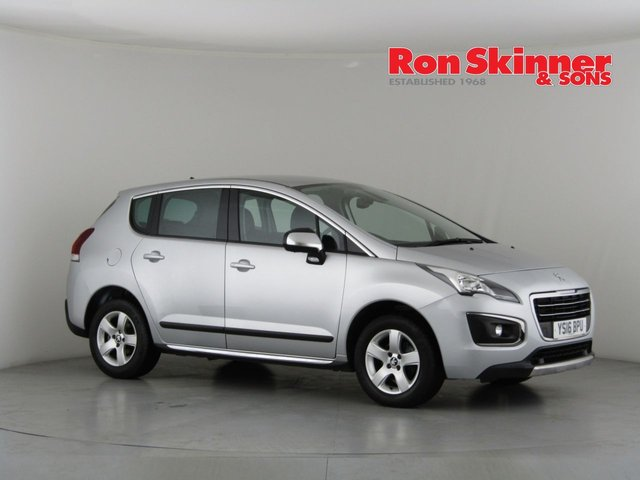 View our 2016 16 PEUGEOT 3008 1.6 BLUE HDI S/S ACTIVE 5d 120 BHP