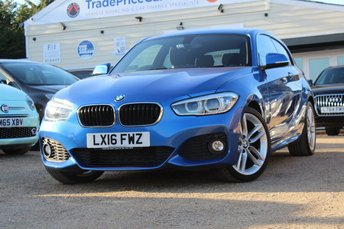 2016 BMW 1 SERIES 1.5 116D M SPORT 3d AUTO 114 BHP £15450.00