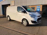 2017 FORD TRANSIT CUSTOM 2.0 270 LIMITED LR P/V 1d 170 BHP £15895.00