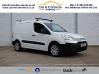 USED 2014 64 CITROEN BERLINGO 1.6 625 ENTERPRISE L1 HDI 1d 74 BHP One Owner Citroen History A/C Buy Now, Pay Later Finance!