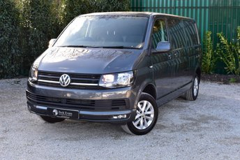 2018 VOLKSWAGEN TRANSPORTER 2.0 T30 TDI P/V HIGHLINE BMT 1d 148 BHP  LONG WHEEL BASE REAR TAILGATE  £18499.00