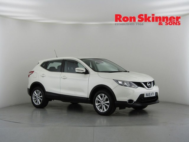 View our 2015 15 NISSAN QASHQAI 1.2 ACENTA DIG-T SMART VISION 5d 113 BHP