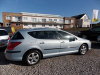 USED 2008 58 PEUGEOT 407 2.0 SW SE HDI 5d 135 BHP WELL EQUIPPED, COMFORTABLE AND FIVE-STAR CRASH SAFETY RATING