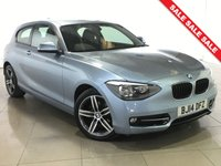 USED 2014 14 BMW 1 SERIES 2.0 116D SPORT 3d 114 BHP 17 Alloy Wheels/Parking Aid
