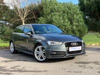 USED 2015 15 AUDI A3 1.6 TDI S LINE 5d Daytona Grey | £0 Road Tax