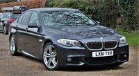2011 BMW 5 SERIES 2.0 520D M SPORT 4d AUTO 181 BHP £10450.00
