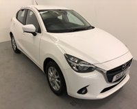 USED 2016 65 MAZDA 2 1.5 D SE-L NAV 5d 104 BHP SAVE OVER £1000 *THIS WEEKEND 3 DAY FLASH SALE *WAS £8500 NOW ONLY £7500  * ZERO ROAD TAX-80+MPG Superb unmarked example in brilliant white with ONLY 30,387 Miles -Full Mazda Dealer Service history -great spec with air con,alloys,bluetooth -so stylish economical and fab to drive -LOW RATE FINANCE AVAILABLE ring us for further details -LOW DEPOSIT options available too