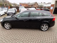 USED 2011 11 VOLVO V60 2.4 D5 SE 5d AUTO 202 BHP Excellent condition with low mileage and a full service history.  Many features including  Full Leather Interior and Heated Front Seats.