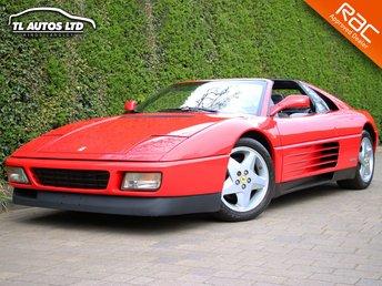 1992 FERRARI 348 3.4 ts 2dr £39990.00