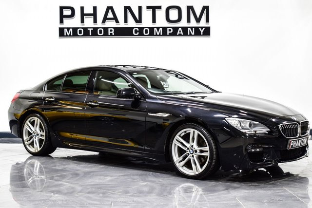 USED 2013 13 BMW 6 SERIES 3.0 640D M SPORT GRAN COUPE 4d AUTO 309 BHP