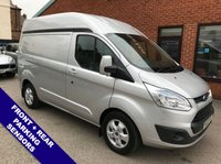 USED 2015 65 FORD TRANSIT CUSTOM 2.2 290 LIMITED LR P/V 1d 124 BHP   ***NO VAT*** DAB RADIO : CRUISE CONTROL : HEATED SEATS: PARKING SENSORS