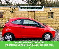 USED 2012 62 FORD KA 1.2 STUDIO 3d 69 BHP Here is a lovely red KA with a contrasting floral black interior. Cheap to run, £30 tax and cheap to insure. 57.7 combined MPG. Great first car.