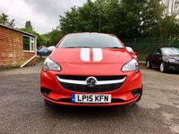 USED 2015 15 VAUXHALL CORSA 1.2 STING 3d WITH LOW MILEAGE AND SERVICE HISTORY NO DEPOSIT  PCP/HP FINANCE ARRANGED, APPLY HERE NOW