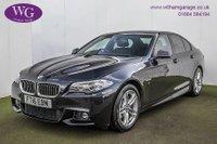 2016 BMW 5 SERIES 2.0 520D M SPORT 4d AUTO 188 BHP £18795.00